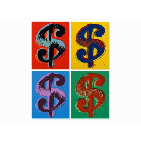 Dollar Sign Suite by Andy Warhol Pop Art Prints