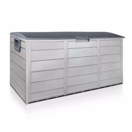 BARTON Pool Deck Box Patio Garden Shed Bin All Weather UV-Resistant by BARTON