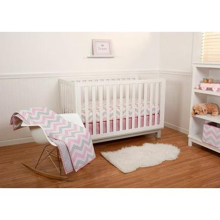Pinwheel Safari Garden Girl 5pc Crib Bedding Set Walmart Com