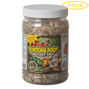 Healthy Herp Tortoise Instant Meal Reptile Food 3.5 oz - Pack of 4