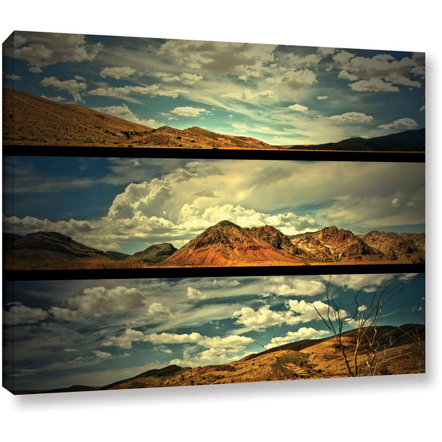 """Mark Ross """"Saving Skis"""" Gallery-Wrapped Canvas"""