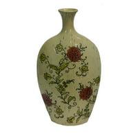 Elegant Multicolor Ceramic Vase