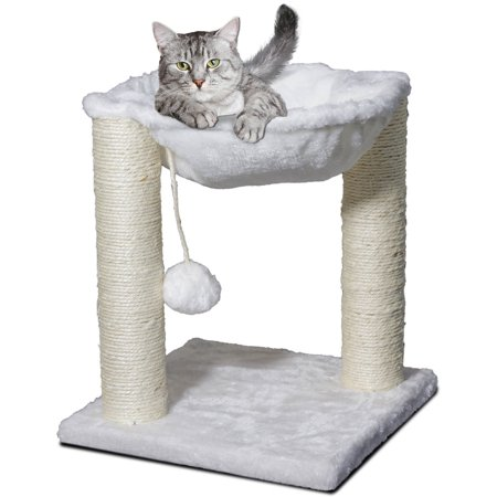 Premium Cat Tree Tower Hammock Scratch Furniture Walmart Com