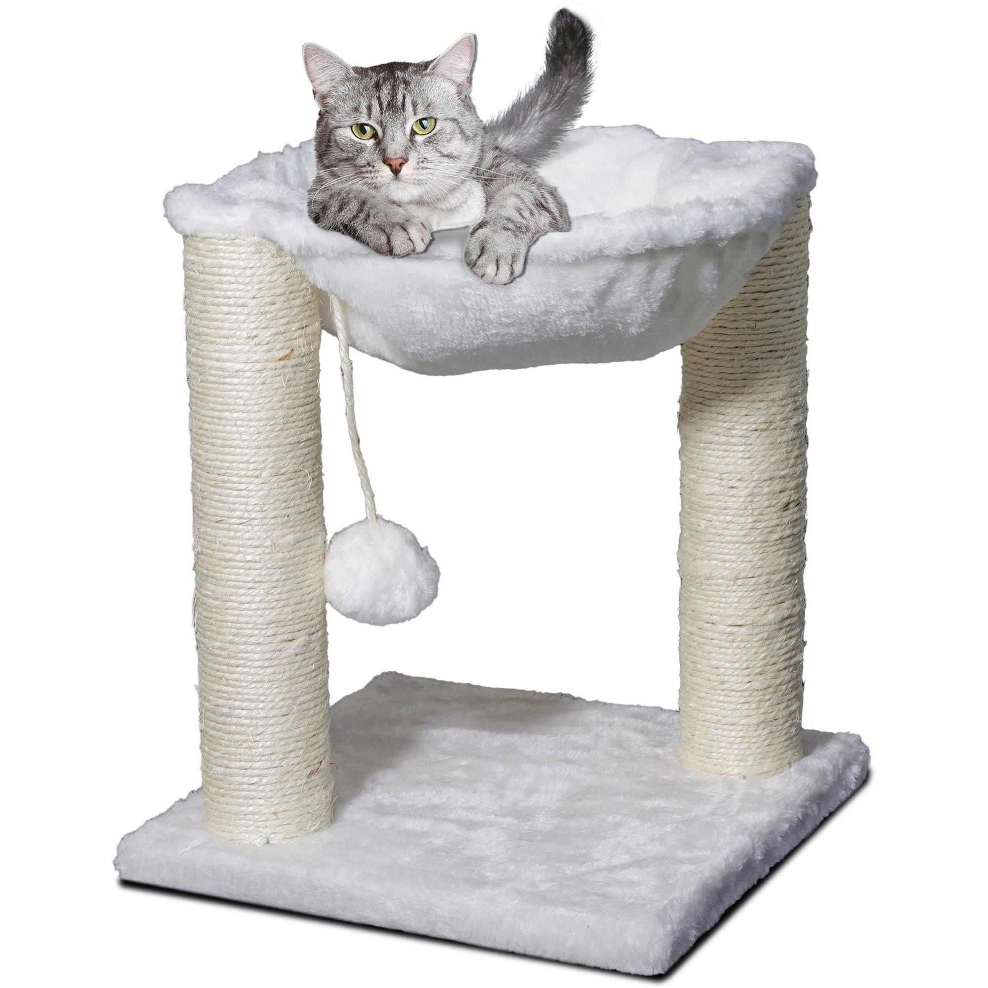 Premium Cat Tree Tower Hammock Scratch Furniture