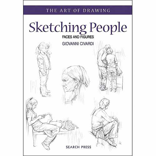 Search Press Books, The Art of Drawing: Sketching People