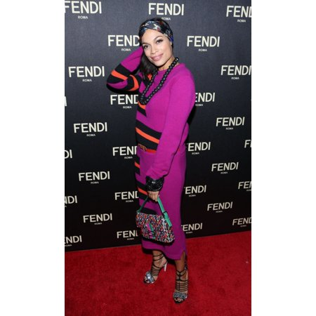 Rosario Dawson At Arrivals For Fendi Flagship Boutique Opening And Cocktail Party 598 Madison Avenue New York Ny February 13 2015 Photo By Andres OteroEverett Collection Celebrity