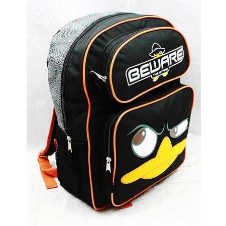 "Backpack - Phineas and Ferb - Agent ""P"" 16"" Large Backpack - image 1 of 2"