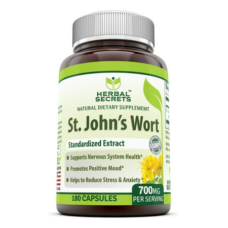 Herbal Secrets St. John'S Wort 700 Mg 180 (600 Mg 180 Capsules)