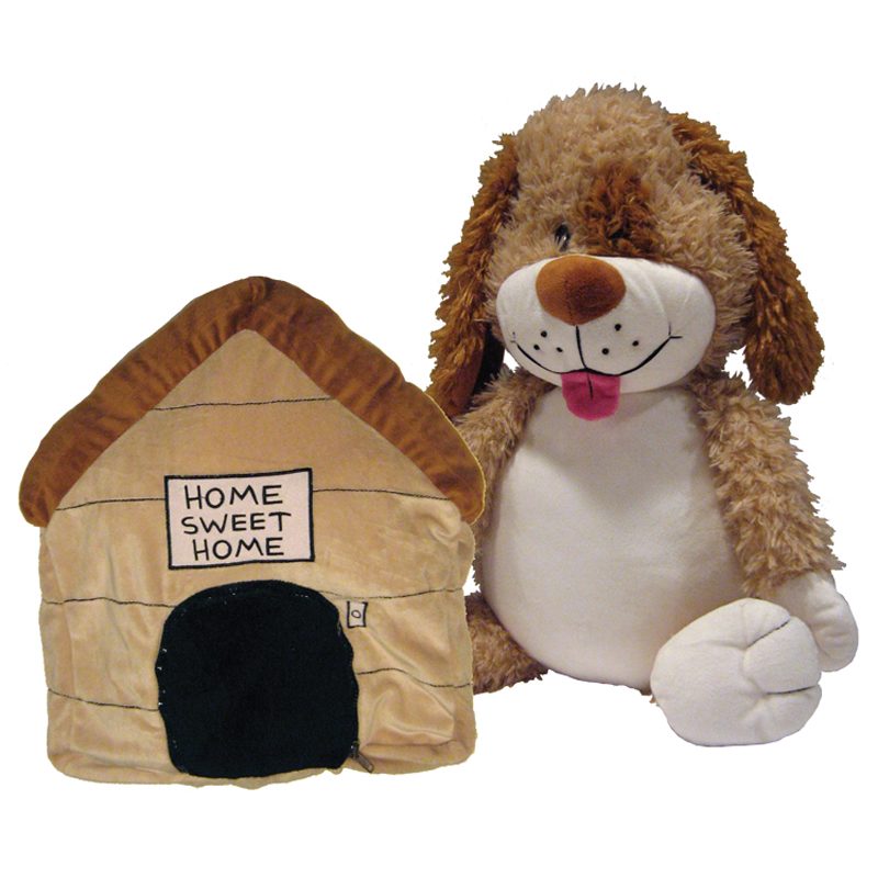 Jay at Play Happy Napper Dog Doghouse