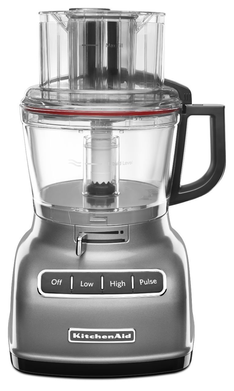 Kitchenaid Rrkfp0930cu 9 Cup Food Processor With Exact Slice System And French Fry Disc Contour Silver Certified Refurbished Com