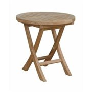 Anderson Teak TBF-5080R Montage 20 in. Round Folding Table