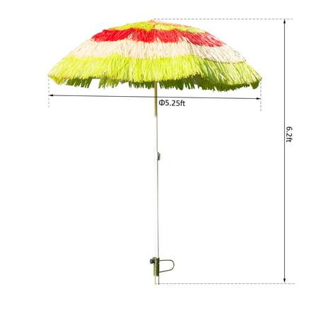 Tiki Beach Outdoor Umbrella - Adjustable and Lightweight - multicolour - image 6 of 7