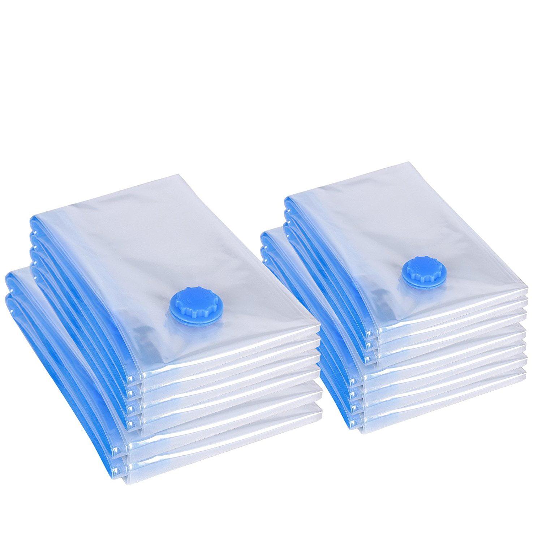 songmics 13 pack vacuum seal storage bags space saver bags multi