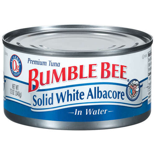 Bumble Bee Albacore Solid White In Water Tuna, 12 oz