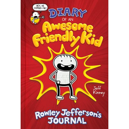 Diary of an Awesome Friendly Kid: Rowley Jefferson's Journal (Childrens Hymn Book)
