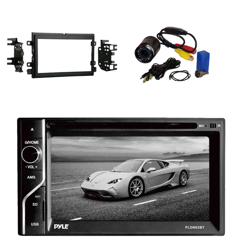 Pyle PLDN63BT 6.5'' 2-DIN In-Dash Touch Screen BT Receive...