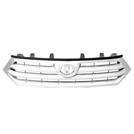 CPP Grill Assembly for 2011-2013 Toyota Highlander Grille