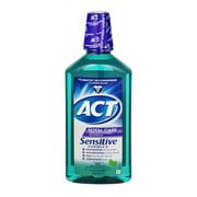 ACT Total Care AntiCavity Fluoride Mint Mouthwash, 33.8 fl oz