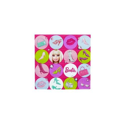 Barbie All Doll'd Up Lunch Napkins 16 ct