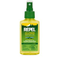 Repel Plant-Based Lemon Eucalyptus Insect Repellent 4 Ounces, Repels Mosquitoes Up To 6 Hours