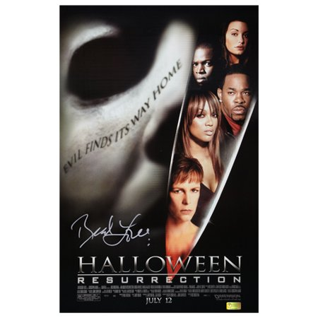 Brad Loree Autographed Halloween Resurrection 11x17 Poster](Halloween Resurrection Cast)