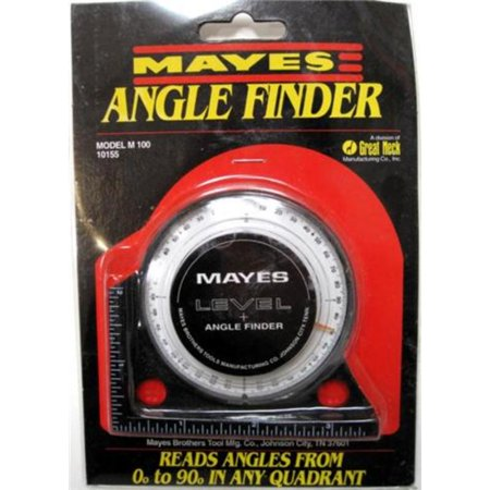 Mayes Angle Finder Brand New Mayes Misc Measuring Tools 10155 028452101557