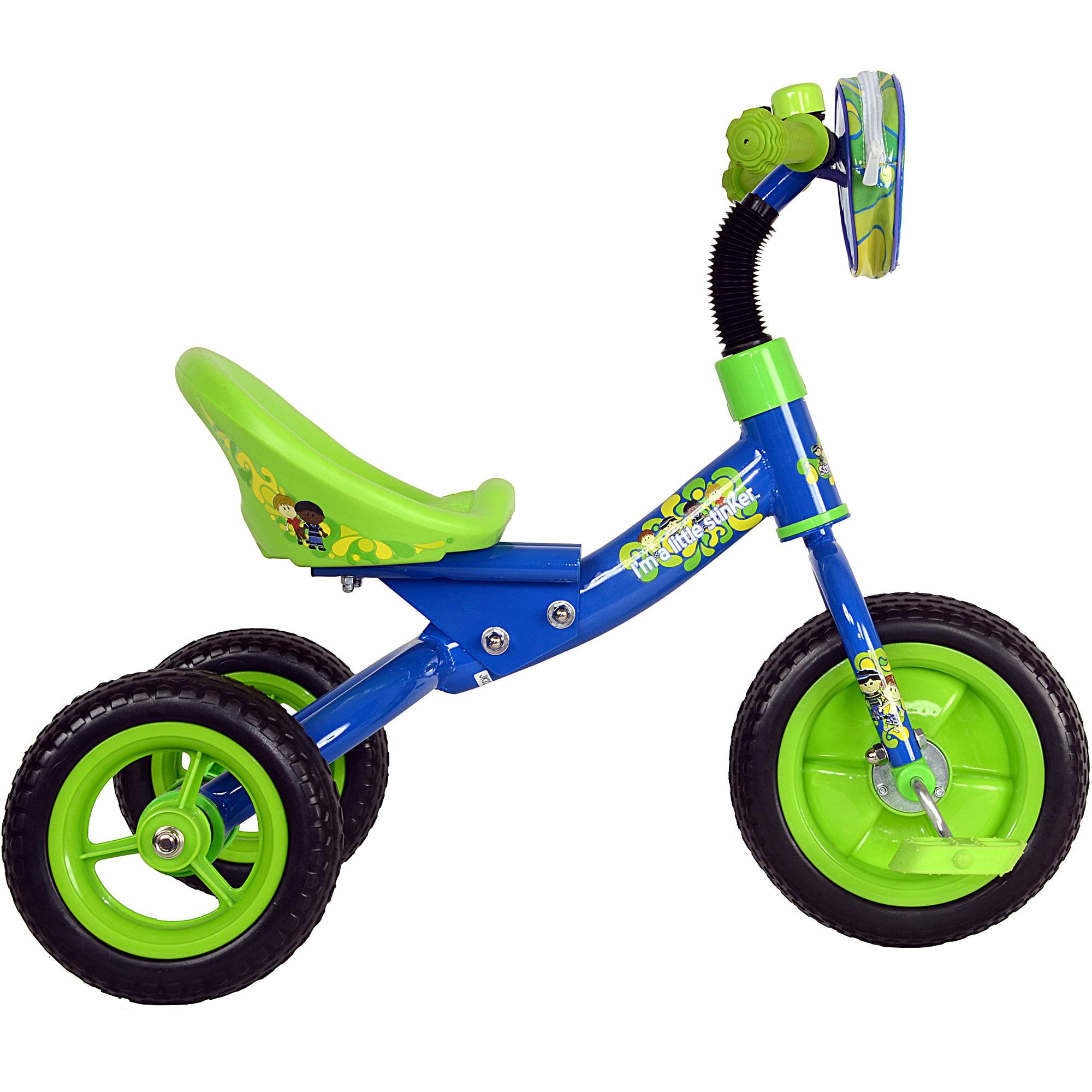 StinkyKids Bucket Rider Boys' Tricycle