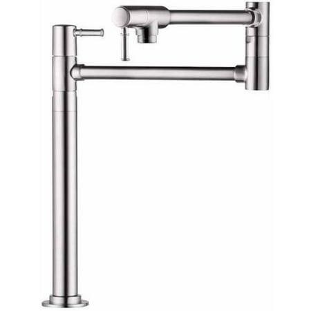 Hansgrohe 04219830 Talis C Deck Mounted Pot Filler Faucet with 21-1/2