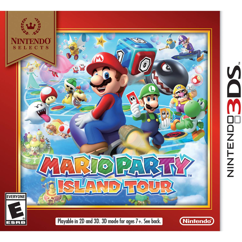 Mario Party Island Tour - Nintendo Selects (Nintendo 3DS)