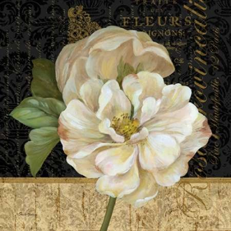 Pamela Gladding Tuscan Bouquet - Antique Still Life Rose Canvas Art - Pamela Gladding (24 x 24)
