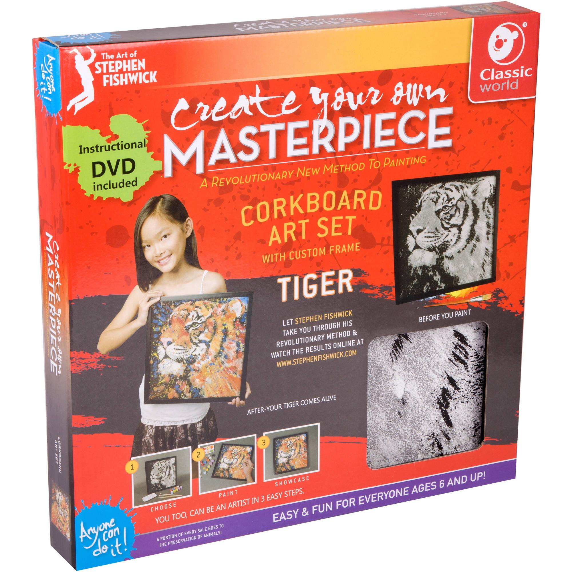 Corkboard #1 Tiger