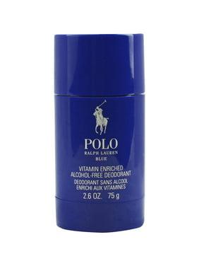 Ralph Lauren Polo Blue Deodorant Stick for Men, 2.6 Oz