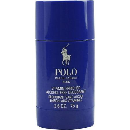 Ralph Lauren Polo Blue Vitamin Enriched Alcohol-free Deodorant, 2.6 Oz