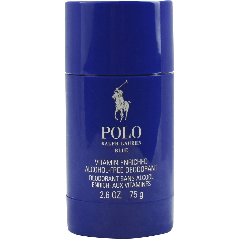 Ralph Lauren Polo Blue Vitamin Enriched Alcohol-free Deodorant, 2.6 Oz