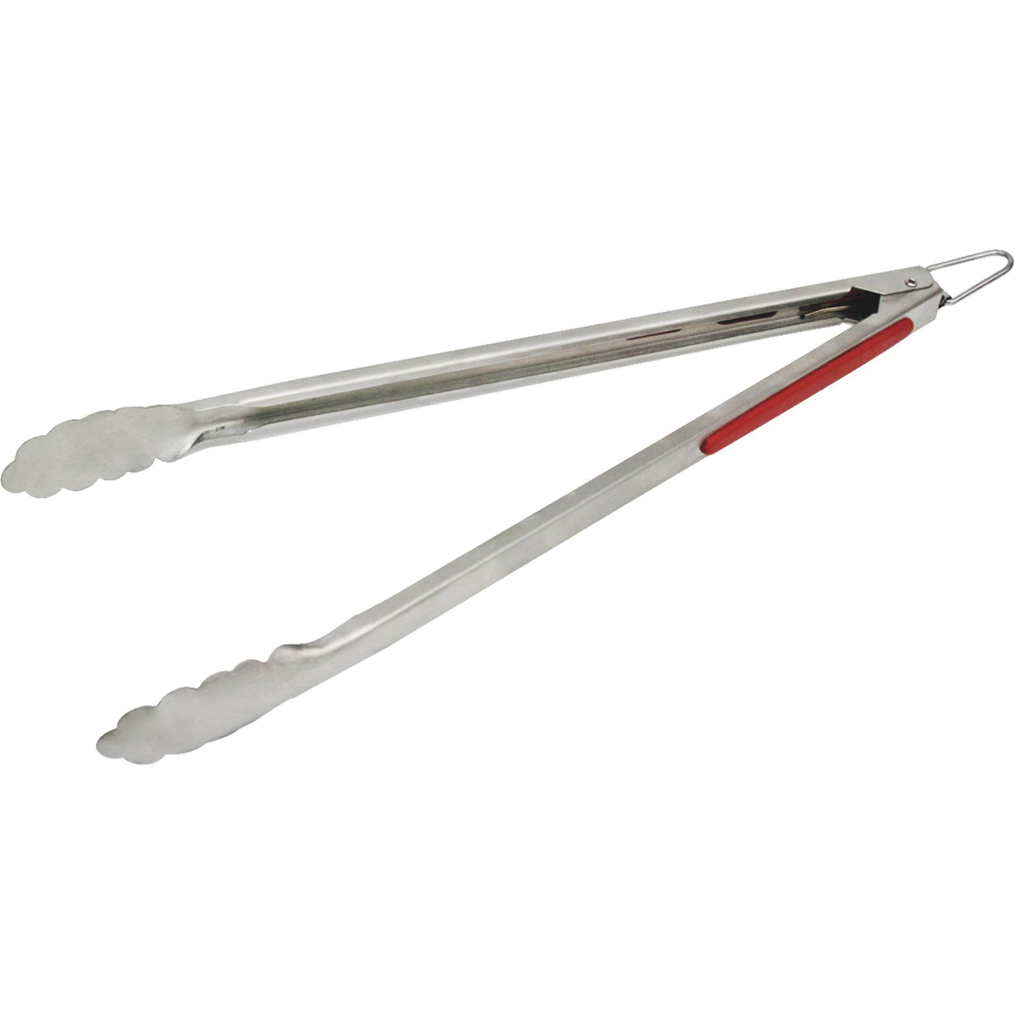 """Onward Grill Pro 40259 15"""" Stainless Steel Tongs"""