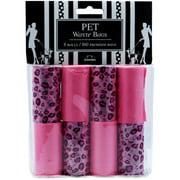Nandog Waste Bag Replacements 8/Pkg-Pink Leopard