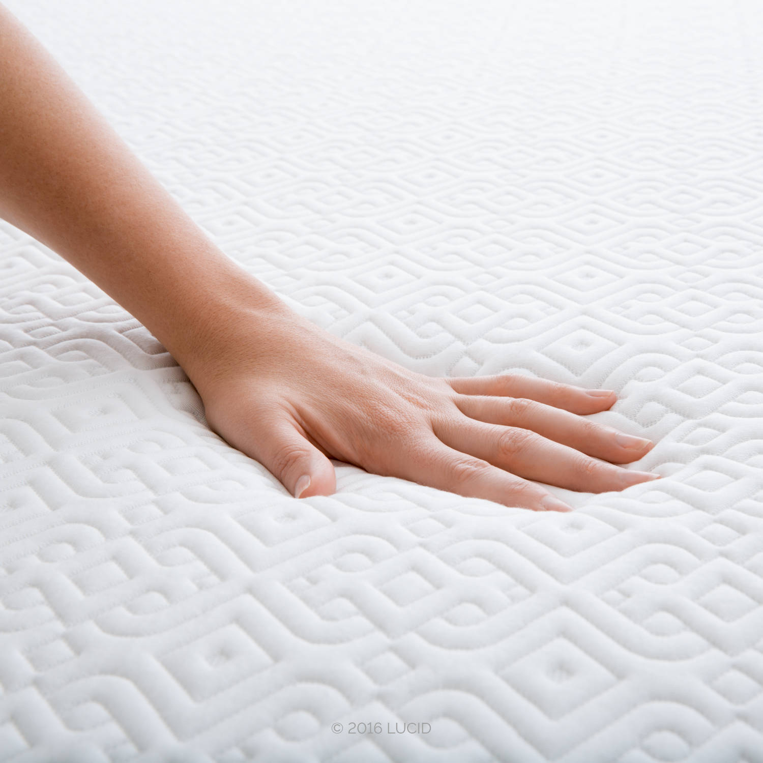 "Lucid 12"" Ventilated Gel Memory Foam Mattress, Triple-Layer, Multiple Sizes  - Walmart.com"