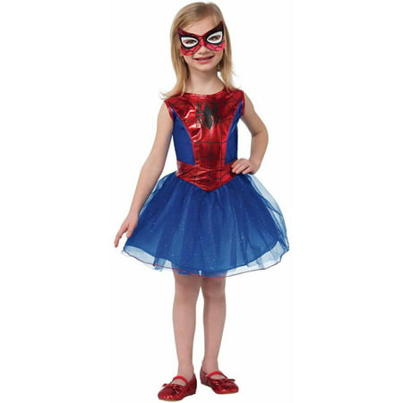 Marvel Spider-Girl Girls' Child Halloween Costume (Funny Ideas For Girl Halloween Costumes)