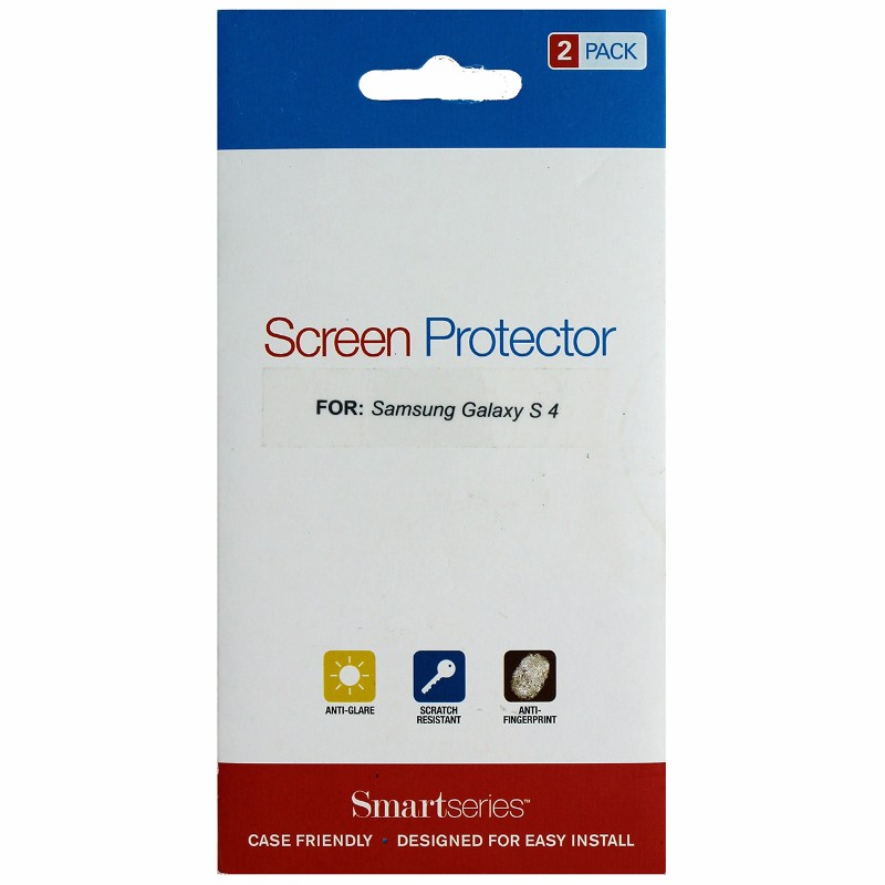 Smartseries 2-pack Screen Protector for Samsung Galaxy S 4