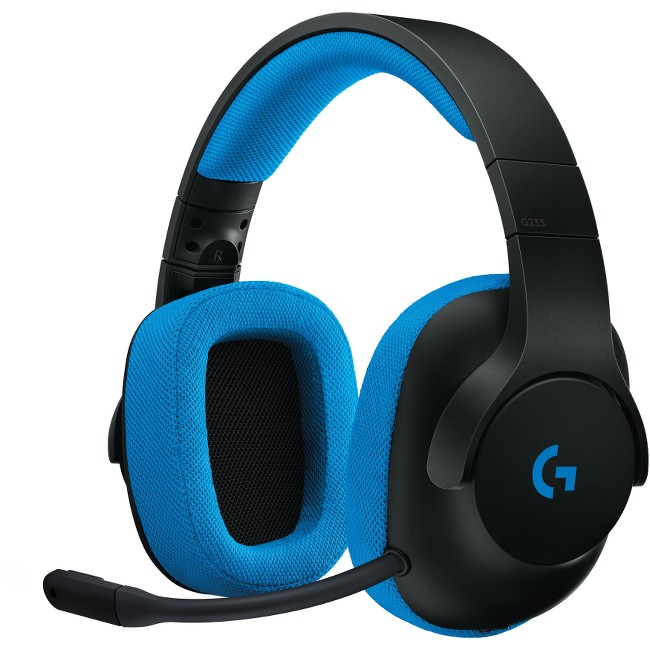 Logitech G233 Prodigy Wired Gaming Headset for PC & Console