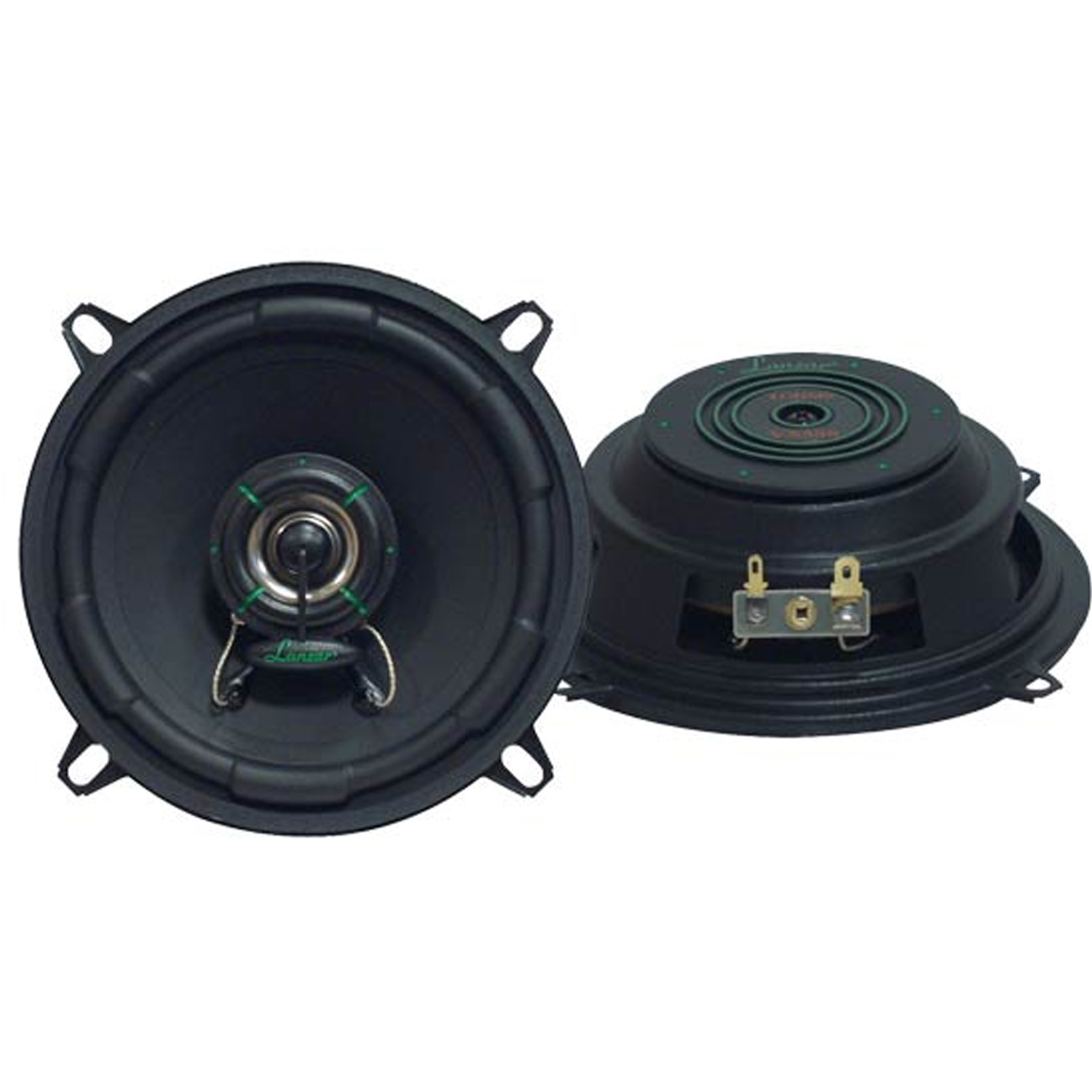 "Lanzar VX 5.25"" Two-Way Slim Mount Speaker System"