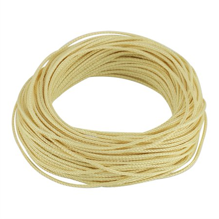 HERCHR 30m Saltwater Resistant 8 Strands Braided Solid Cord Line For Fishing Camping Hiking , Braided Line,Fishing Cord