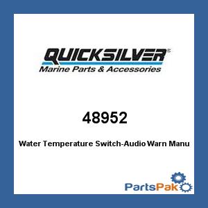 Mercury - Mercruiser 48952 Mercury Quicksilver 48952 Water Temperature Switch-Audio