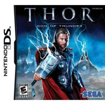 Thor: God of Thunder (DS) (Thor Games)
