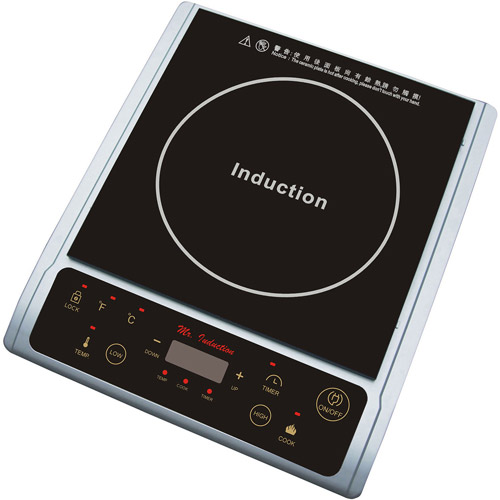 Sunpentown 1,300W Induction Cooktop, Silver by Generic