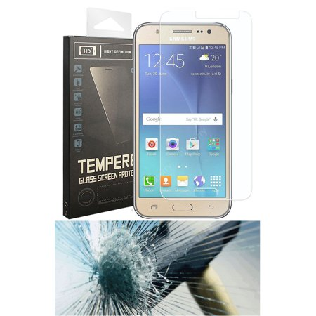 HARD TEMPERED GLASS SCREEN PROTECTOR CRACK SAVER FOR CRICKET SAMSUNG GALAXY AMP PRIME