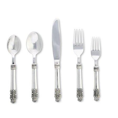 Vagabond House Medici Living 5 Piece Flatware Set, Service for 1