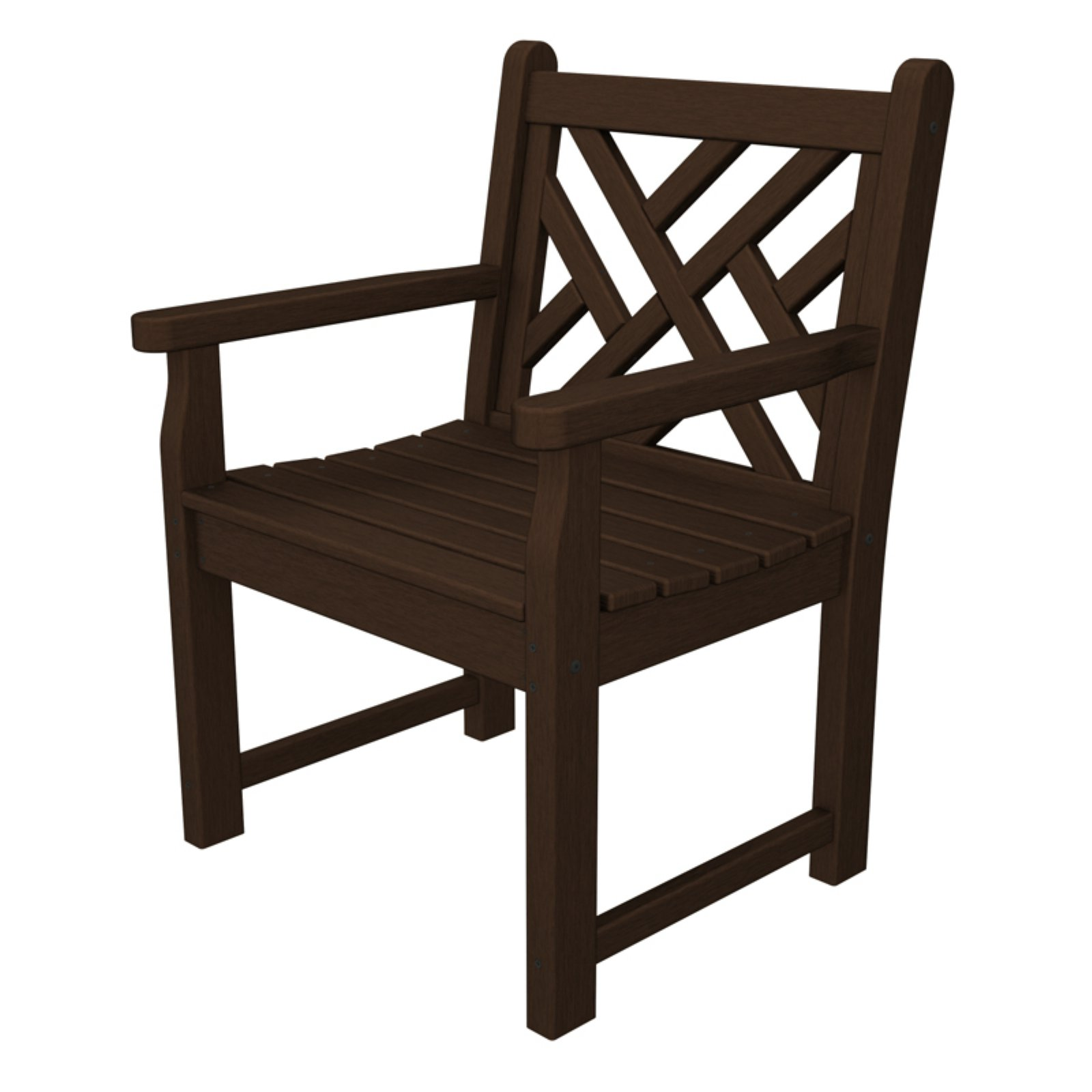 POLYWOOD® Chippendale Recycled Plastic Arm Chair