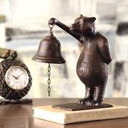 SPI Home Bear Table Bell Figurine