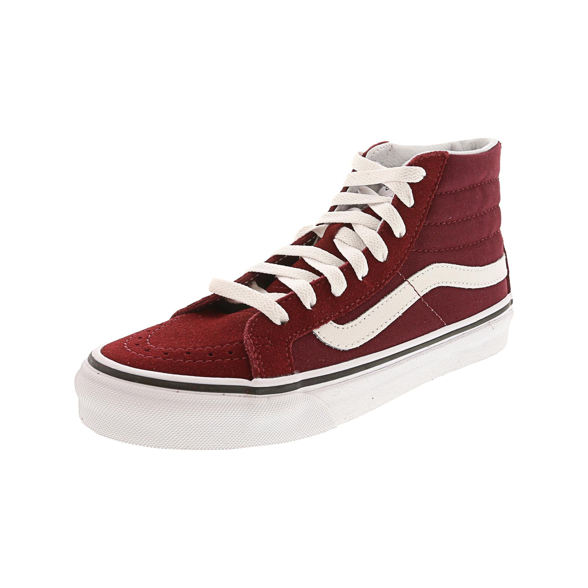 aeb147c232 Vans Sk8-Hi Slim Pirate Black   True White Ankle-High Canvas Skateboarding  Shoe - 8M 6.5M